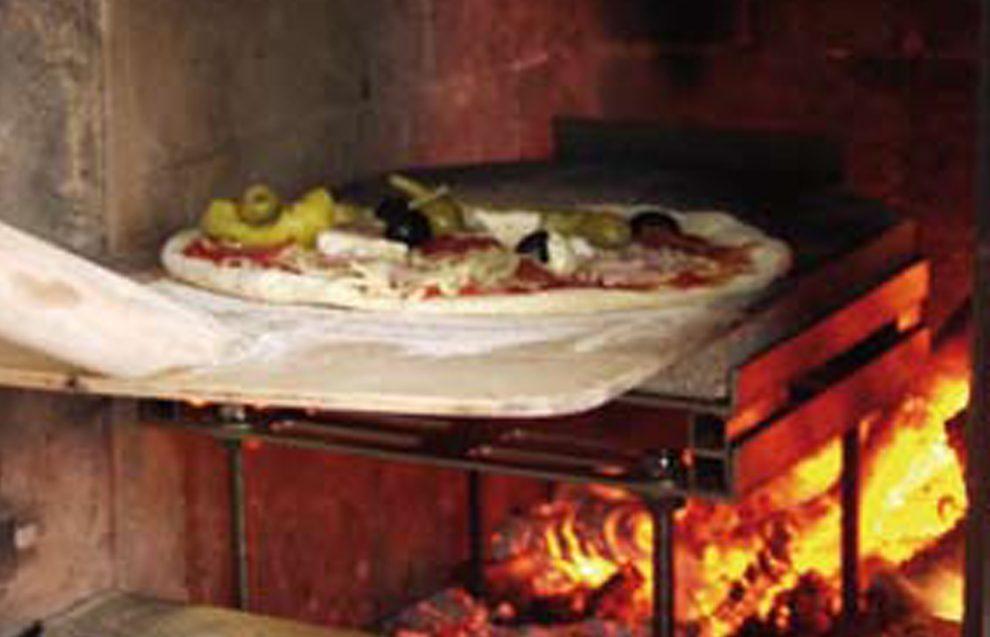 Pizza Casa Backvorrichtung