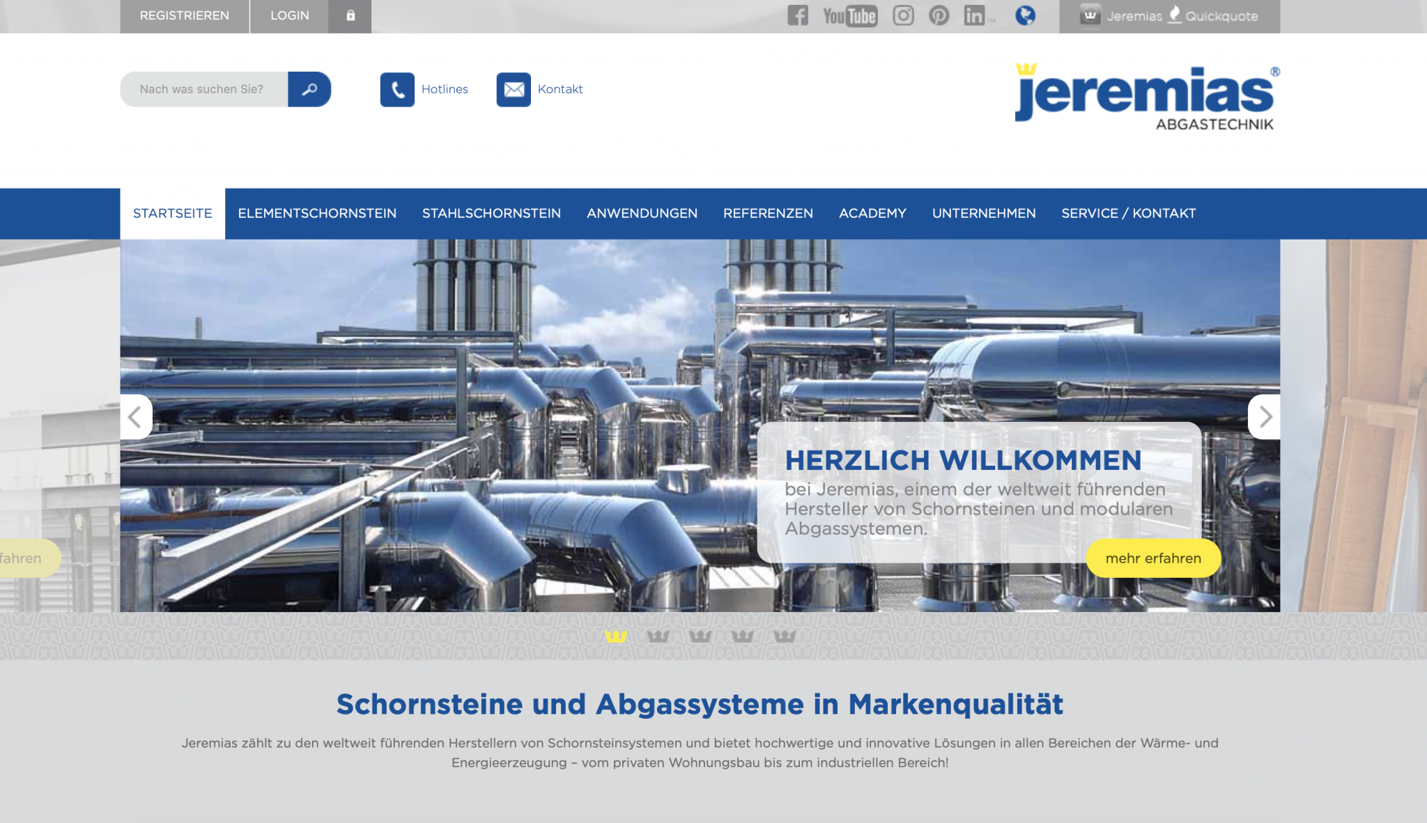 Jeremias Website
